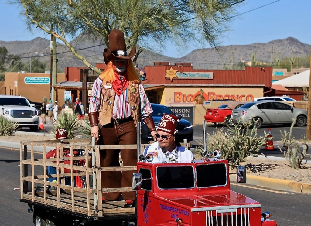 Cave Creek Rodeo Days Parade