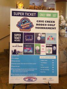 2018 Golf Tournament - Super Ticket