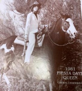 1981 Queen Cheryl Cederwall