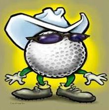 Golf Ball with Hat