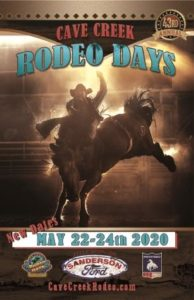 2020 Rodeo Poster May