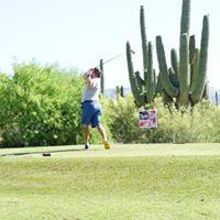 Golf Tee Off 2020